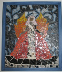 """Follow Me"" Mosaic by Meredith Dragovich"